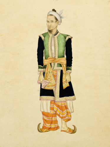 Portrait Of The Burmese, Delhi, C. 1820 by Christie's Images