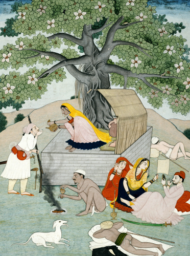 A Miniature From An Album. Kangra by Christie's Images