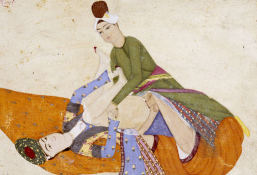 An Erotic Scene, 1744 by Abdullah Bokhari Turkey