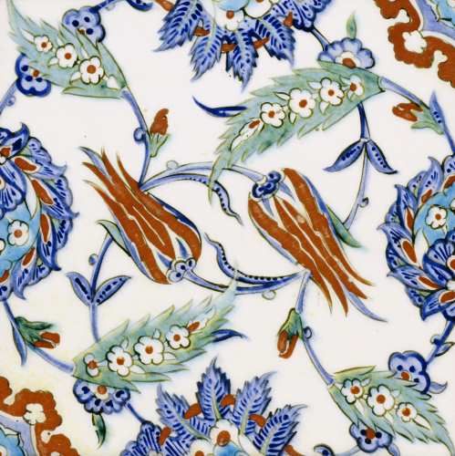 An Iznik Pottery Tile, c.1580 (II) by Christie's Images