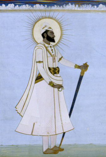 Portrait Of Maharaja Karem Singh Of Patiala by Christie's Images