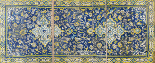 Safavid Cuerda Seca Tile Panel by Christie's Images
