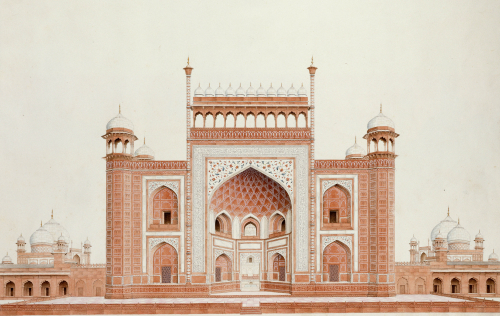 The Gateway Of The Taj. Agra School, C.1815 by Christie's Images