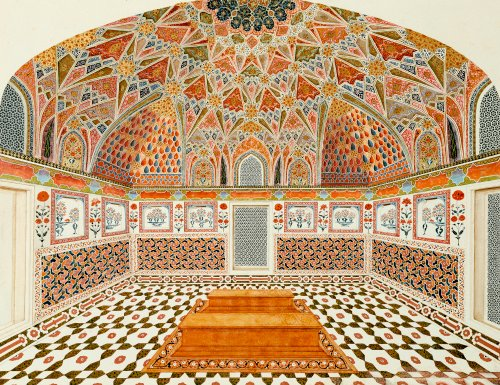 Interior Of The Tomb Of Etahmadowlah. Agra School C.1815 by Christie's Images