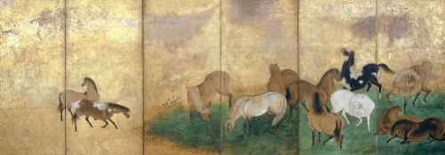 A Large Group Of Horses. by Christie's Images