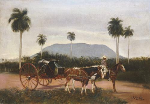 Volanta, 1916 by Eduardo Morales