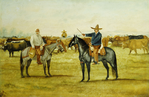 Cortame Al Toro Pinto, 1912 by Ernesto Icaza