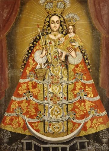 Nuestra Senora De La Concepcion by Domingo Vidal