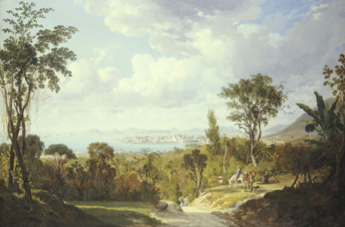 Vista General De Panama, 1852 by Ernest Charton