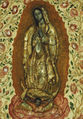 The Virgin Of Guadeloupe by Christie's Images