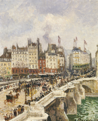 Le Pont-Neuf, 1901 by Camille Pissarro
