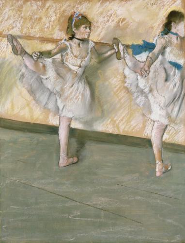 Dancers At The Bar, Circa1877 by Edgar Degas
