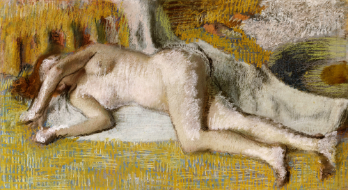 After The Bath, 1885 by Edgar Degas