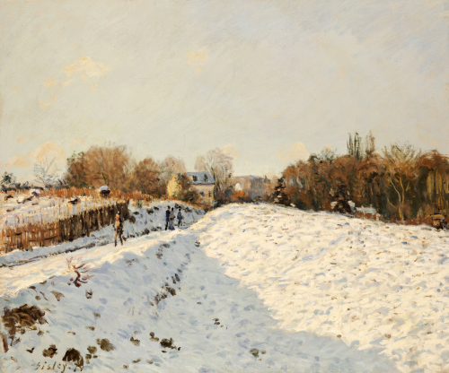 Snow At Argenteuil, 1874 by Alfred Sisley