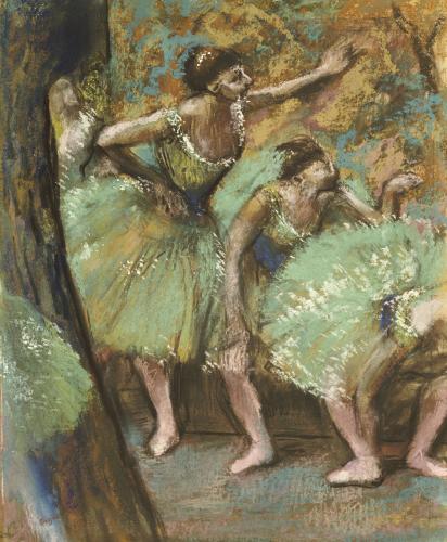 Danseuses, 1898 by Edgar Degas