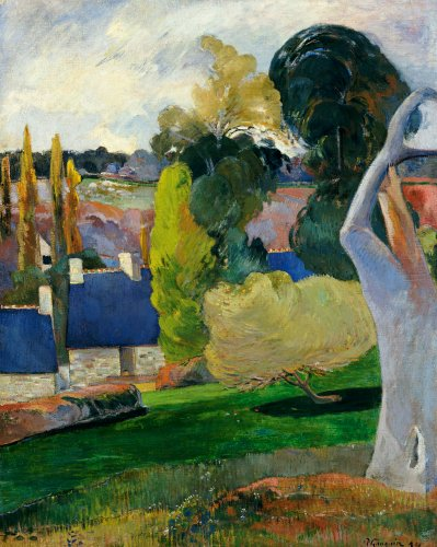 Farm In Brittany II, 1894 by Paul Gauguin