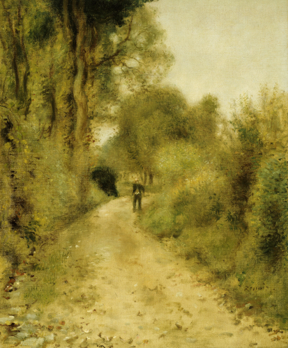 On The Path by Pierre Auguste Renoir