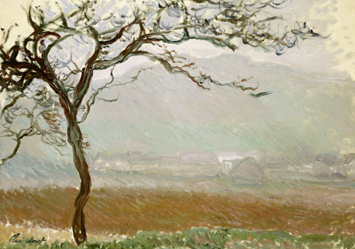 Giverny Countryside by Claude Monet