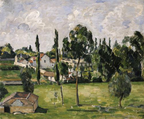 Paysage Avec Conduite D'Eau, Circa 1879 by Paul Cezanne