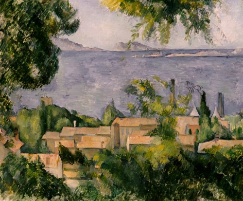 The Rooftops Of LEstaque 188385. by Paul Cezanne
