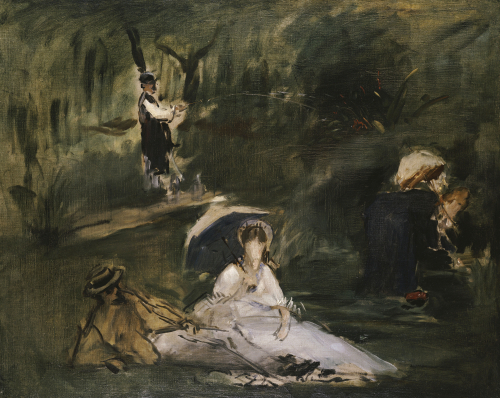 Under The Trees (The Outing In The Country), 1878 by Edouard Manet