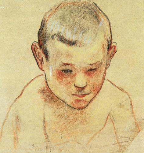 Head Of A Boy, 1886 by Paul Gauguin