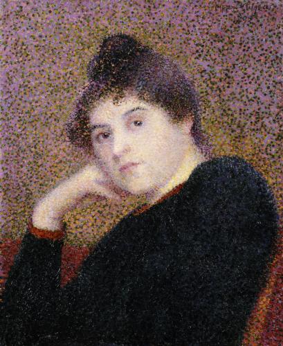 Portrait De Femme by Hippolyte Petitjean