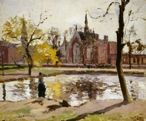 Dulwich College, London by Camille Pissarro