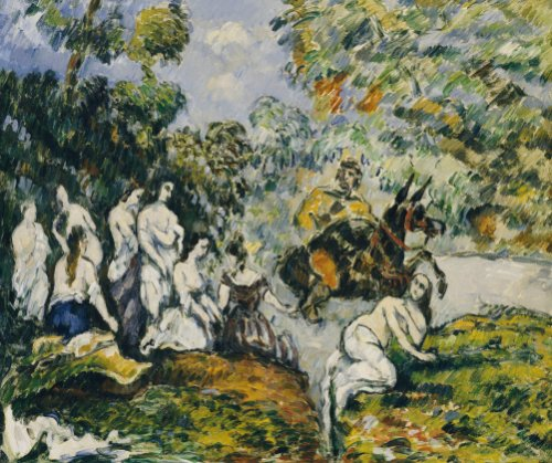 Scene Legendaire, Circa1878 by Paul Cezanne