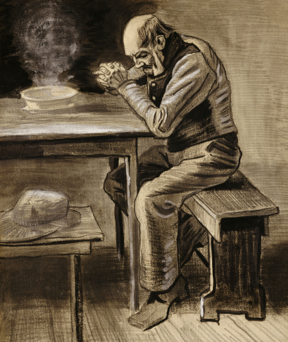 The Prayer, 1882 by Vincent Van Gogh