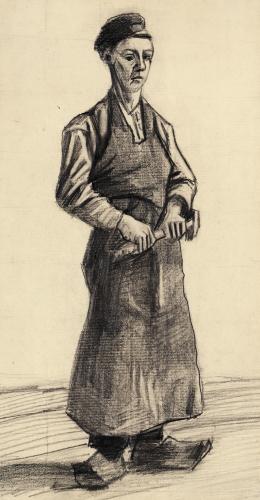 The Blacksmith's Boy, 1882 by Vincent Van Gogh