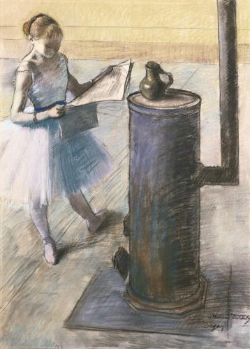Dancer Resting, Circa 1880 by Edgar Degas