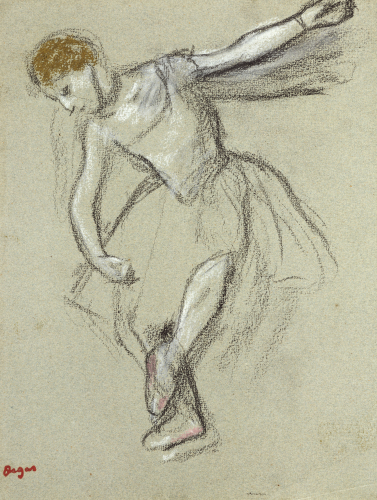 A Dancer Seen In Profile by Edgar Degas
