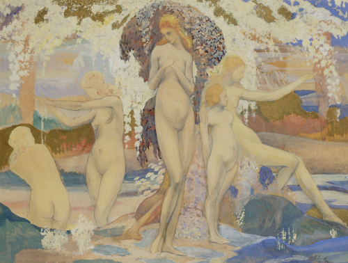 The Bathers, 1922 by A. Philippol