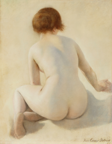 A Nude, 1897 by Pierre Carrier-Belleuse