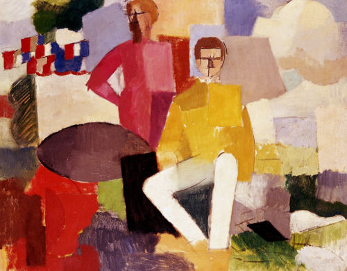 The Fourteenth Of July. Le Quatorze Juillet, 1914 by Roger de la Fresnaye