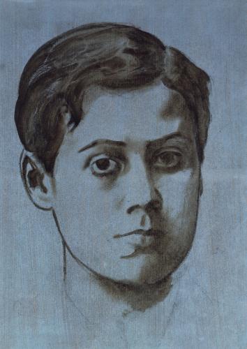 Portrait Of A Young Man [Rene De Gas], Circa 1859 by Edgar Degas