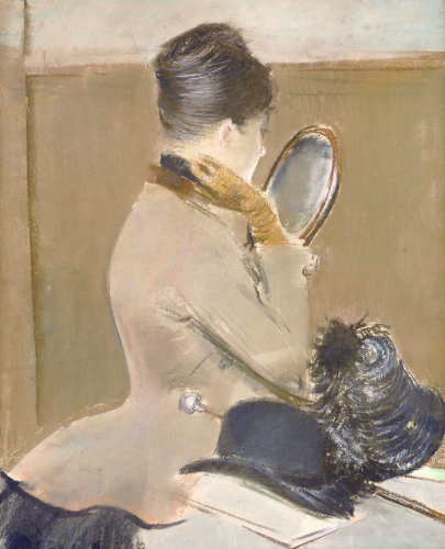 The Milliner's Shop by Jean-Louis Forain