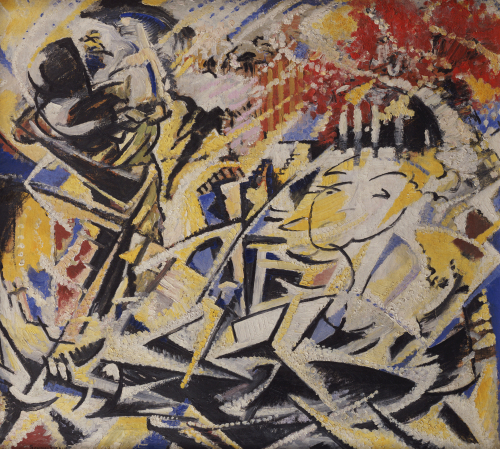 The Dynamic Sensation Of The Dance, 1914 by Jules Schmalzigaug