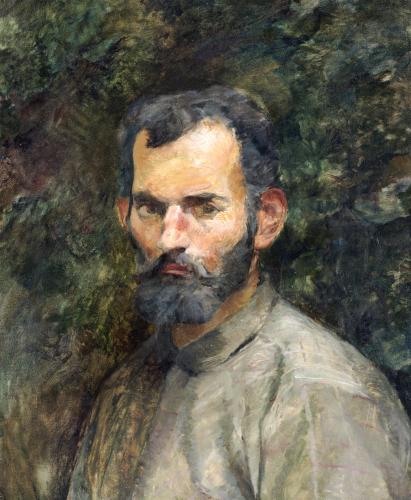 Tete D'Homme, 1883 by Henri de Toulouse-Lautrec