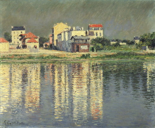 Banks Of The Seine At Argenteuil, 1889 by Gustave Caillebotte