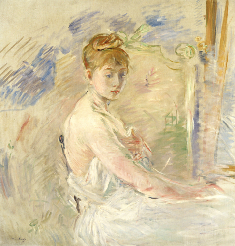 A Young Girl From The East (Mlle. Euphrasie), 1886 by Berthe Morisot