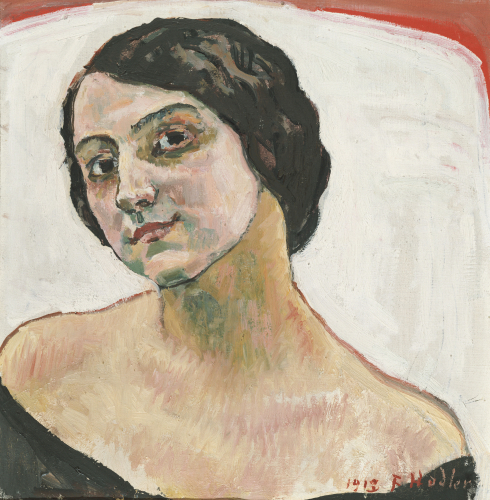 Woman With Brown Hair, 1913 by Ferdinand Hodler