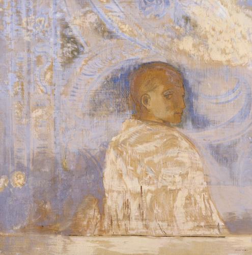 Le Regard, Circa 1910 by Odilon Redon