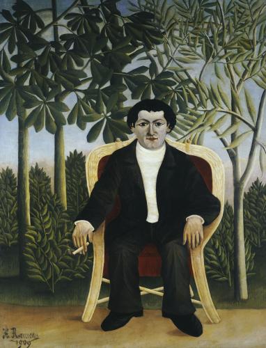 Portrait De Joseph Brummer, 1909 by Henri Rousseau
