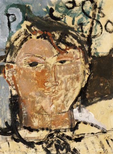 Portrait De Picasso, 1915 by Amedeo Modigliani