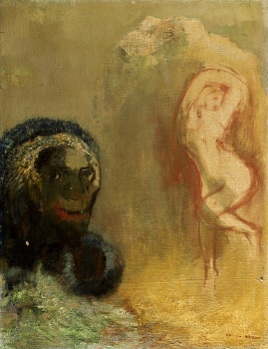 Andromeda And The Monster by Odilon Redon