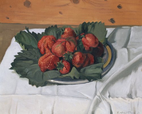 Still Life With Strawberries, 1921 by Felix Vallotton