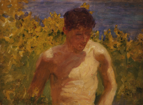 Johnny Jackett by Henry Scott Tuke