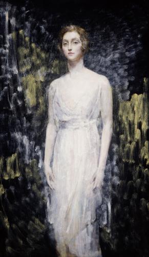 Portrait Of A Lady by Ambrose McEvoy